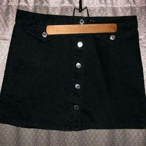 Forever 21 Dark Green Skirt